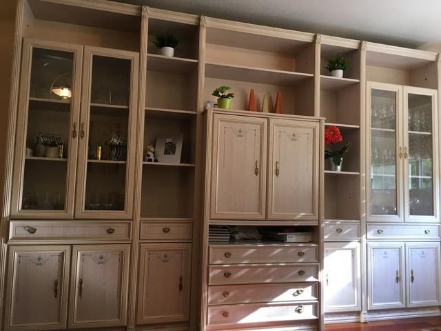 Conjunto sal n muebles sal n comedor madera de segunda - Muebles salon alicante ...