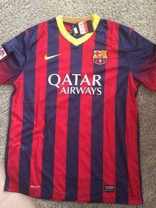 Camiseta fc barcelona 2013-2014