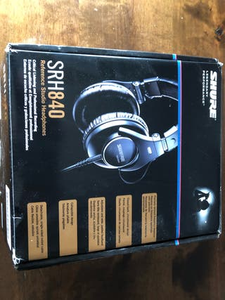Auriculares Shure SRH 840