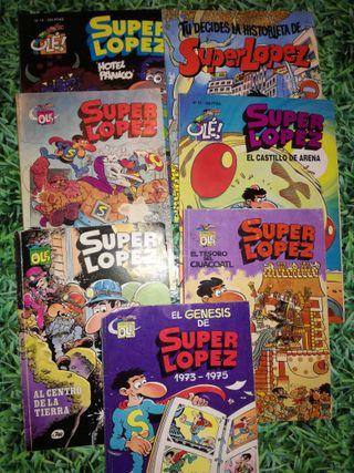 COMICS DE SUPERLOPEZ