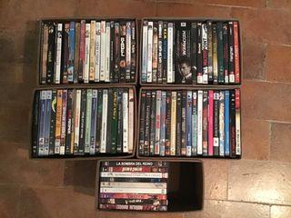 84 películas de dvd