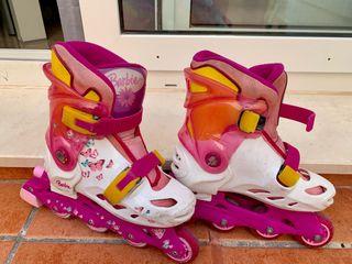 Patinas de 4 ruedas en línea niña roller skates