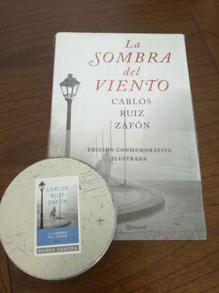 LIBRO LA SOMBRA DEL VIENTO MÁS CD