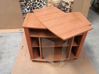 Mueble televisor mesa giratoria