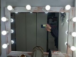 Espejo camerino con luces