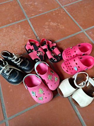 lote zapatos talla 25