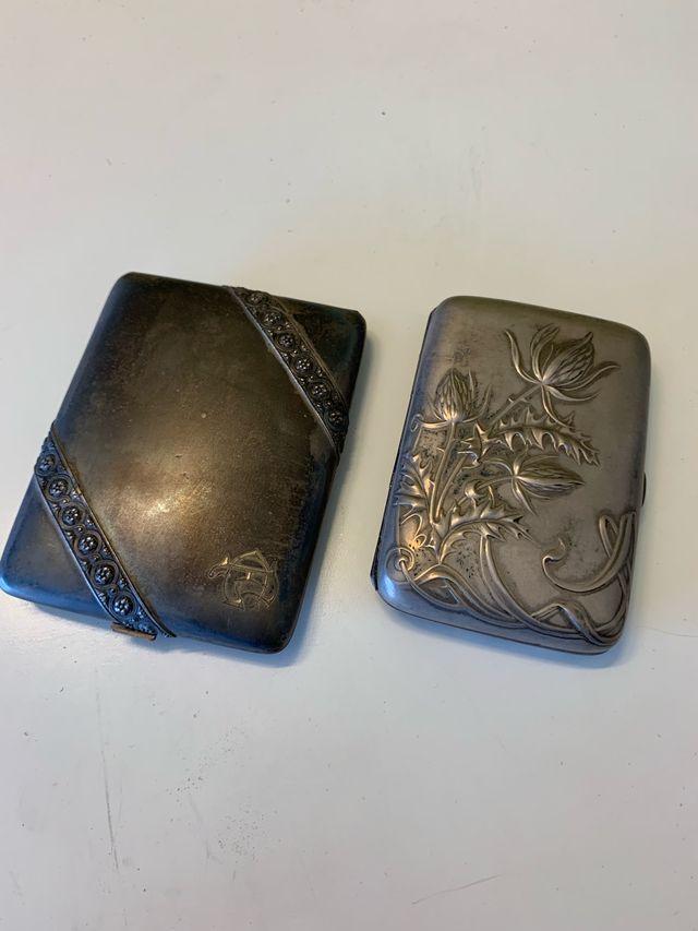 Pitilleras de plata antiguas