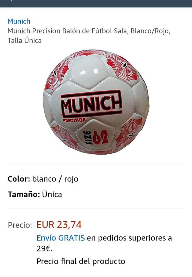 Balon Fútbol sala de segunda mano por 13 € en Barcelona en WALLAPOP 4b29127548aec