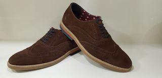 Zapato Oxford Ante El Ganso