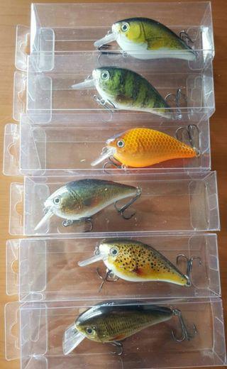 lote señuelos de pesca crankbaits