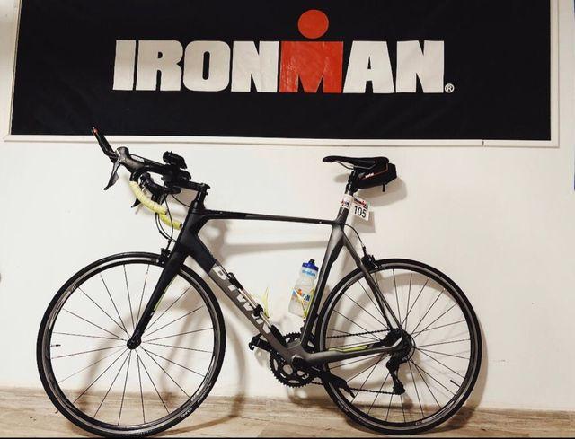 Bicicleta btwin carbono carretera