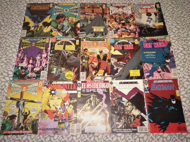 CLASICOS DC Nº 1 A 15 EDITORIAL ZINCO