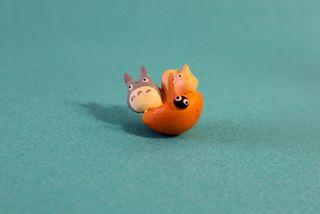 Pequeña figura Mi Vecino Totoro
