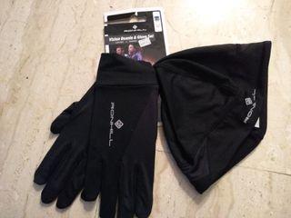 Conjunto de gorro y guantes de Ronhill a estrenar