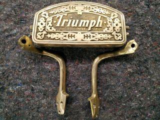 Reposa pies de sillon de barbero Triumph