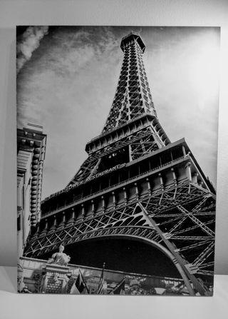 Cuadros Paris. Torre Eiffel y Arco del Triunfo