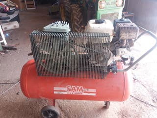 compresor aire comprimido a gasolina.motocompresor