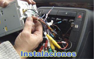 Instalación económica de radio pantallas