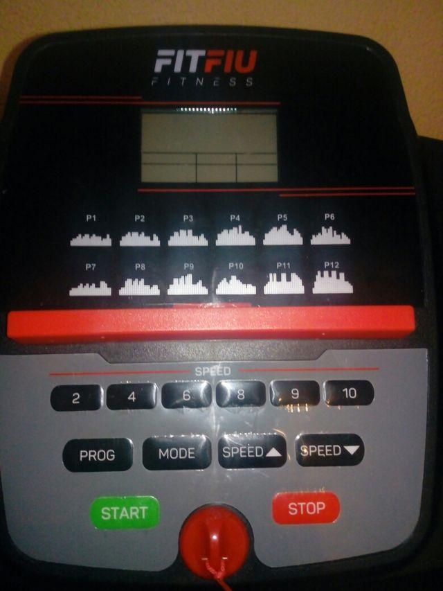Cinta para correr FitFiu 900w NUEVA!