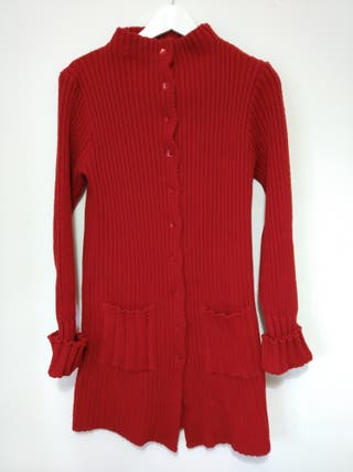 604eb6786da Chaqueta roja mujer de segunda mano en Madrid en WALLAPOP