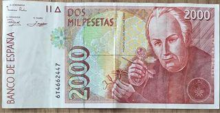 Billete 2000 pesetas