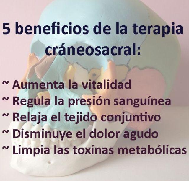 masajes terapia CRÁNEO- SACRAL