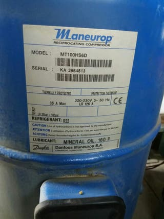 Compresor Danfoss Maneurop R22