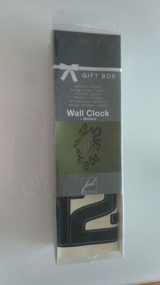 Reloj decorativo de pared