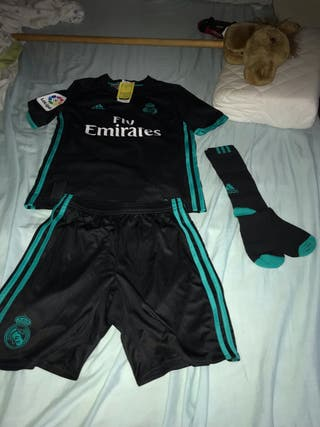 Equipación Real Madrid niños