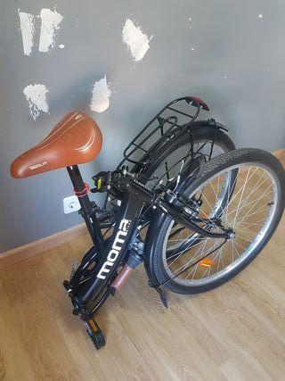 """bicicleta plegable aluminio MOMA 24"""""""