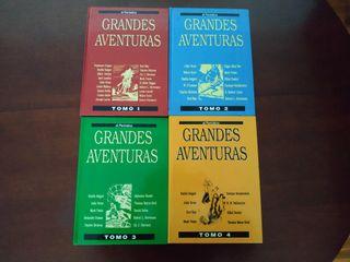 GRANDES AVENTURAS (4 tomos) - El Periódico