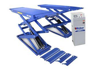 Elevador doble tijera 3.000kg weber Dsh-3000