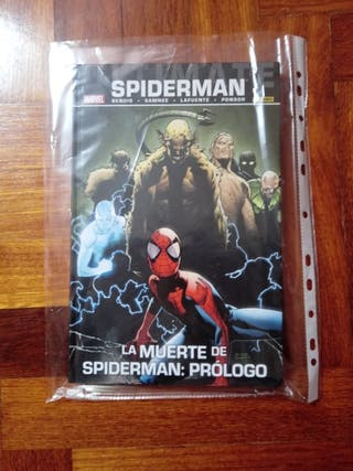 COMIC La muerte de spiderman:PROLOGO