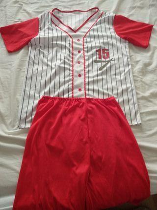 disfraz jugador béisbol