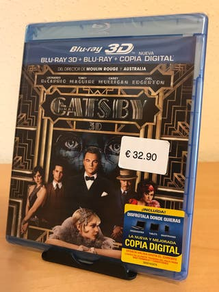 Bluray 3D+2D El Gran Gatsby NUEVA