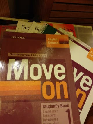 Inglés primero bach Move on