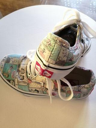 zapatillas vans niño 27