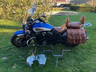 Moto Indian muy completa