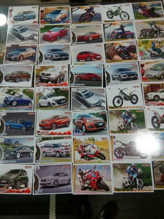 Cromos motos y coches