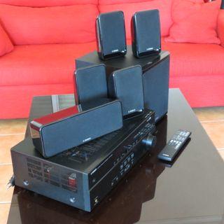 Home Cinema Yamaha YHT196 de alta fidelidad / 600W