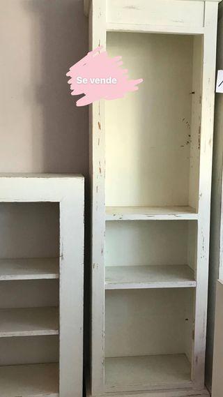 Librerías de Madera Maciza restauradas!