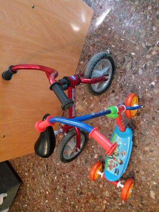 bici y patinete