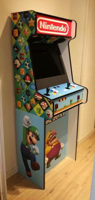 mueble m quina recreativa arcade bartop de segunda mano