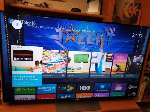 Televisión Sony Smart TV (Android Tv 7.0) 55XD9305