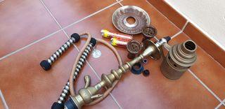 Accesorios cachimba cobre