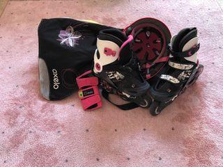 patines de linea + accesorios