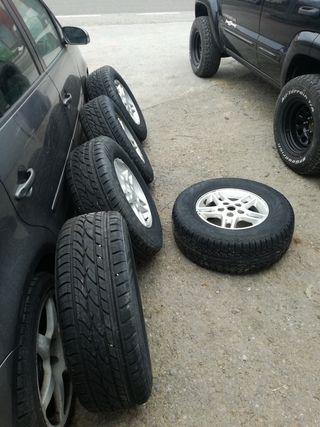 Ruedas Jeep Grand Cherokee