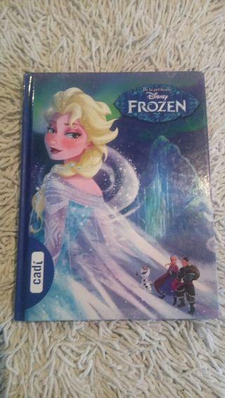 libro infantil princesa FROZEN, editorial Cadi