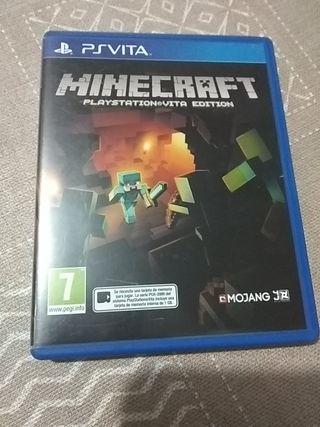 ps vita- PlayStation vita MINECRAFT