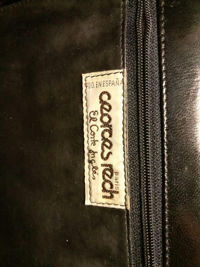 Bolso de piel Vintage tipo Chanel